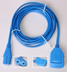 Kabel für Neutralelektrode an LG2 mit Clip-Flachstecker