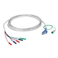 Anschlusskabel-F 2-Kanal für Tubus-Klebeelektroden Select
