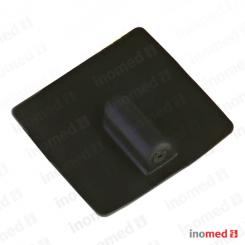 Electrode in conductive silicon  rectangular, 50x50mm