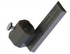 Female connector for z-rail for ZD stereotactic systems