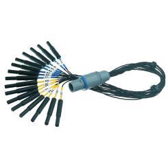 Adapterkabel 2x8 für Gridelektrodenkabel
