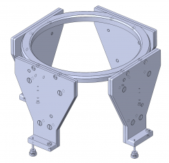 CT/MR Localisation set for Titanium & Aluminium Headring