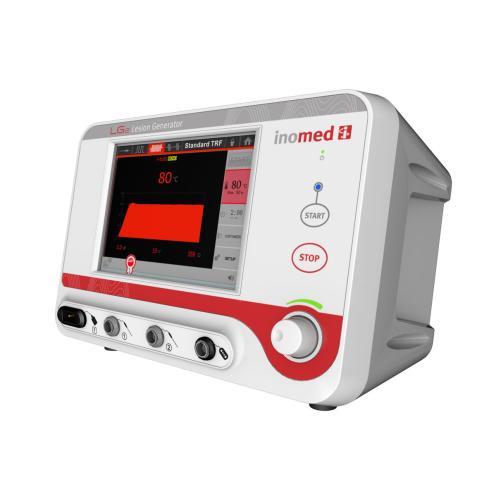 LG2, RF-Läsionsgenerator, 2 Kanal Stimulation, Kont. und Gepulste RF