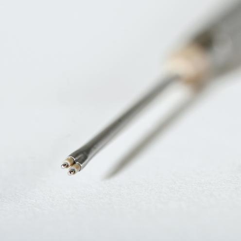 Micro fork probe 45 mm straight