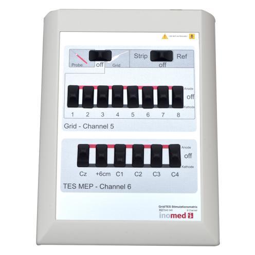 Grid-/TES-Stimulationsmatrix 8 Ch. an ISIS Neurostimulator