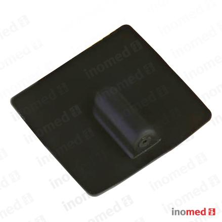 Elektrode in Leit-Silicon rechteckig, 50x50mm