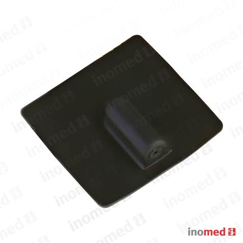 Elektrode in Leit-Silicon rechteckig, 85x60mm
