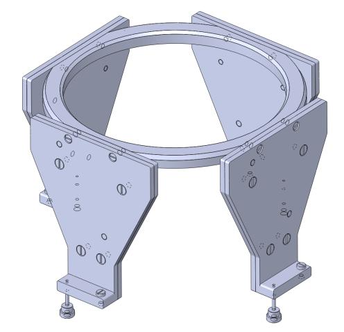 CT-/MR-Lokalisations Set für Titan- und Aluminiumring
